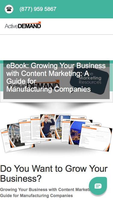 Resources - eBook - Manufacturing Content Marketing
