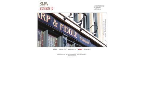 Screenshot of Press Page smw-arc.com - News from SMW architects - captured Feb. 3, 2016