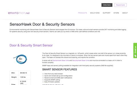 SensorHawk Door & Security Sensors - Enviromon