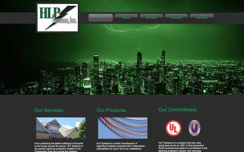 Screenshot of Contact Page hlpsystems.com - HLP Systems, Inc. | Lightning Protection for Chicago and Midwest - captured Oct. 1, 2014