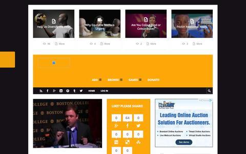 Screenshot of Home Page Blog blackgroupsonline.com - One Black Community - Black Groups On-LineBlack Groups On-Line - captured Oct. 1, 2014