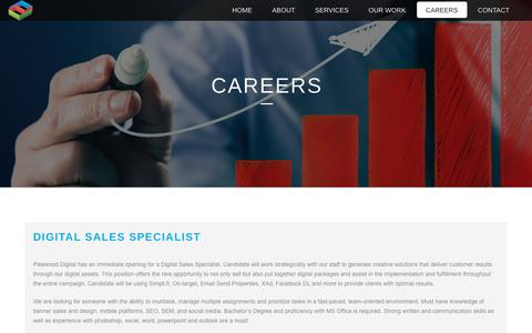 Screenshot of Jobs Page pikewooddigital.com - Careers – Pikewood Digital - captured July 18, 2018
