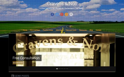 Screenshot of Blog cravensnoll.com - Blog - Cravens & Noll - captured Oct. 3, 2014