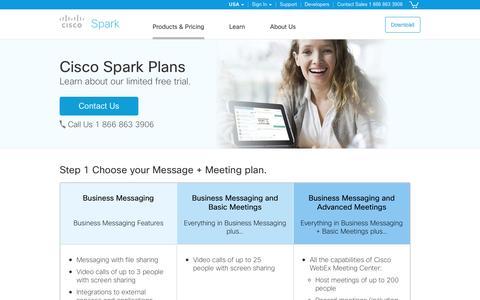 Cisco Spark. Team communication plans.