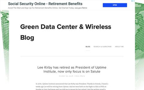 Screenshot of Team Page greenm3.com - Green Data Center & Wireless Blog - captured Nov. 17, 2018
