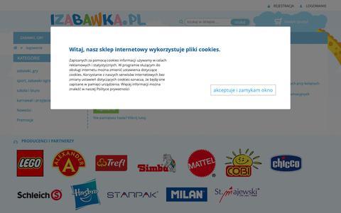 Screenshot of Login Page izabawka.pl - izabawka.pl - internetowy sklep z zabawkami - captured Oct. 27, 2018