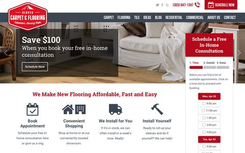 Colorado's Flooring Peak, Guaranteed | Denver Carpet & Flooring