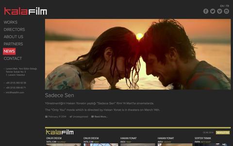 Screenshot of Press Page kalafilm.com - Kala Film - captured Sept. 30, 2014