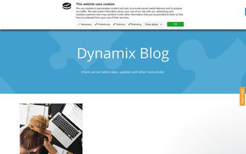 Screenshot of Blog dynamixcloud.com - Care Team says… - captured Oct. 7, 2018