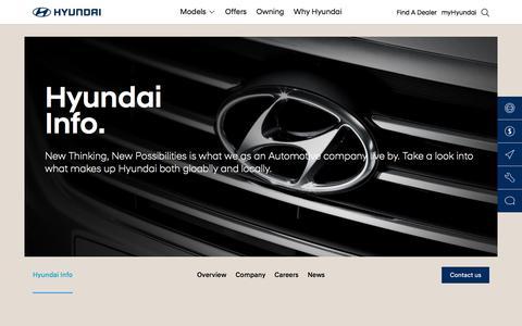 Hyundai Information - Hyundai Australia