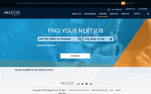 Search All Job Openings With Allegis Group