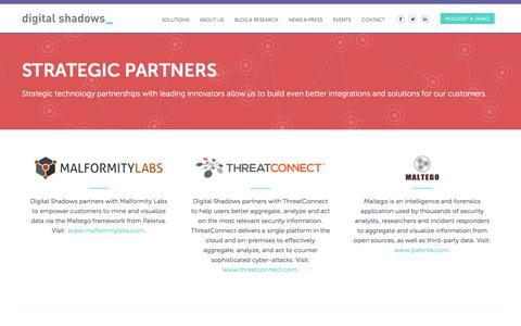 Strategic Partners » Digital Shadows