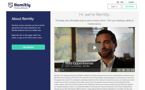 About Us | Send Money Online | Remitly