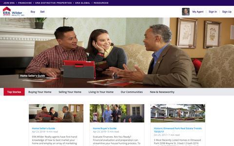 Screenshot of Blog era.com - Blog Articles | Top Stories | John Boozer - captured Oct. 31, 2018
