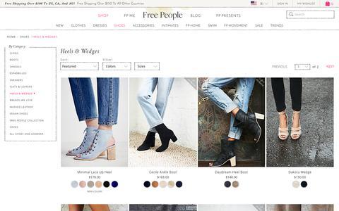 High Heels, Platform & Wedge Heels for Women | Free People | Free People