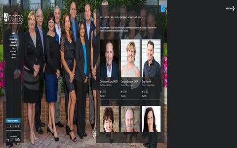 Screenshot of Team Page accessdmc.com - Destination Management Services, Event Planner - captured Dec. 12, 2015