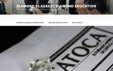Rough Diamond Grading and Evaluation Course | Diamond Classes | Diamond Education