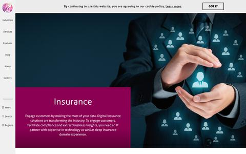 Insurance Software Solutions | Mindtree