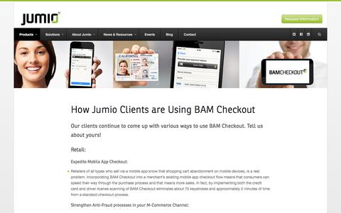 Use Cases - Jumio