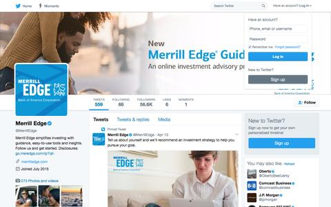 Merrill Edge (@MerrillEdge) | Twitter