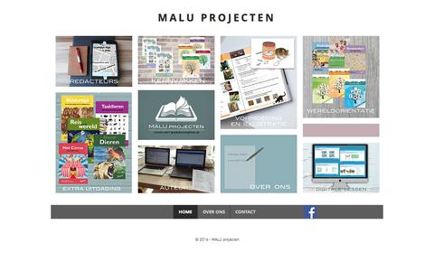 Screenshot of Home Page maluprojecten.nl - maluprojecten - captured May 25, 2017