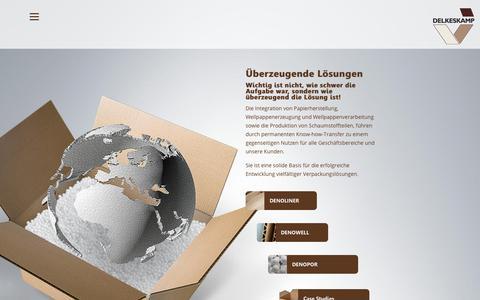 Screenshot of Case Studies Page delkeskamp.de - Produkte | Delkeskamp - captured April 30, 2018