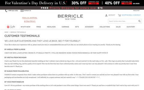 Berricle: Testimonials