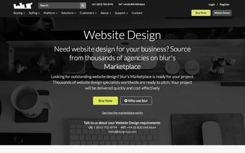 Redesign Website Services | blur Group