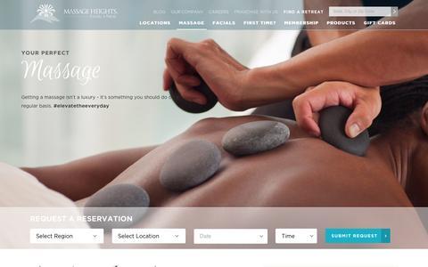 Revitalizing Face Massage