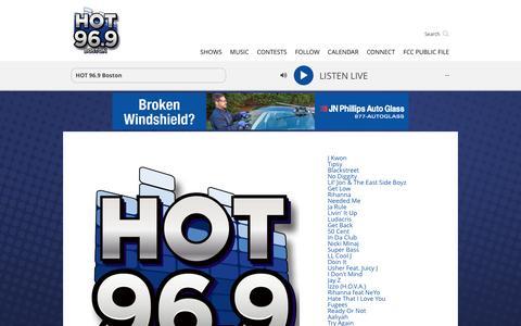 Become A HOT 96.9 Hot Shot
