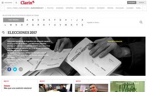 Elecciones 2017 – Clarín.com