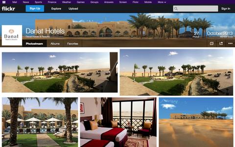 Screenshot of Flickr Page flickr.com - Flickr: Danat Hotels & Resorts' Photostream - captured Oct. 23, 2014
