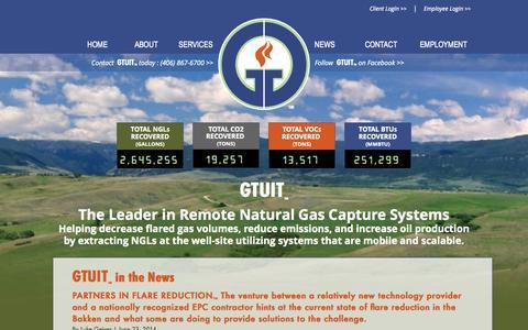 Screenshot of Press Page gtuit.com - GTUIT - captured Oct. 1, 2014