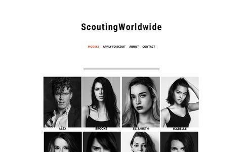Screenshot of Home Page vulkanit.me - Q   N   S Models Management - captured Jan. 12, 2016