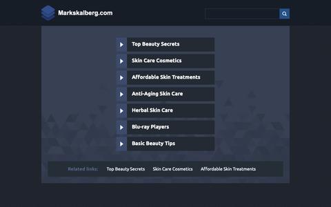 Screenshot of Home Page markskalberg.com - Web hosting provider - Bluehost.com - domain hosting - PHP Hosting - cheap web hosting - Frontpage Hosting E-Commerce Web Hosting Bluehost - captured Oct. 1, 2018