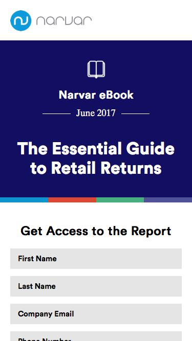 Narvar   Returns Ebook