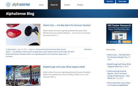 AlphaSense Blog - AlphaSense