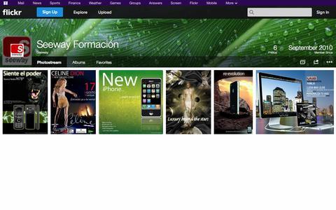 Screenshot of Flickr Page flickr.com - Flickr: Seeway's Photostream - captured Oct. 27, 2014