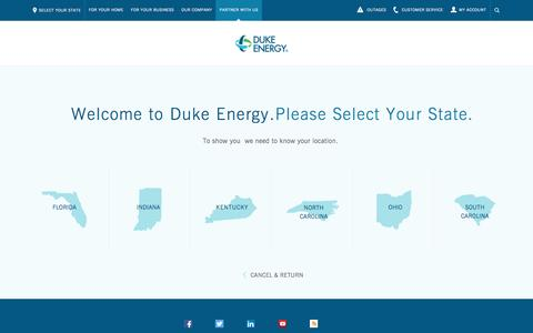 Builders Electric Service Page - Duke Energy