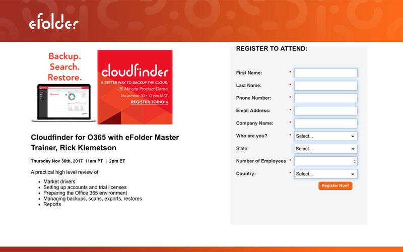 Register Now and Discover Cloudfinder