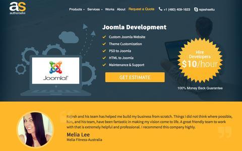 Joomla Development - Authorselvi - Web and Mobile Application Development Company