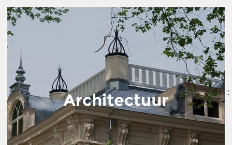 Screenshot of Home Page delfgou.nl - Delfgou | Architectuur en monumentenadvies voor u! - captured Oct. 12, 2015