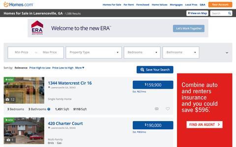 Lawrenceville, GA Homes for Sale & Lawrenceville Real Estate at Homes.com | 1596 Listings of Homes for Sale