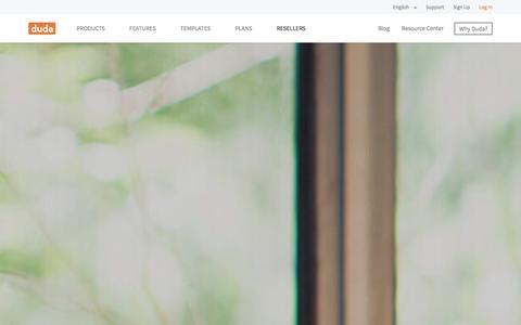 Screenshot of Support Page dudamobile.com - Duda Website Builder - Build Smarter Websites - captured Jan. 29, 2016