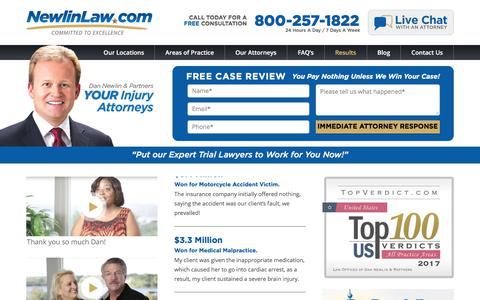 Orlando Personal Injury Attorney Results