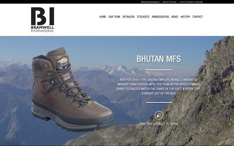 Screenshot of Home Page bramwell-int.co.uk - Bramwell Int UK and Ireland - captured Jan. 23, 2015