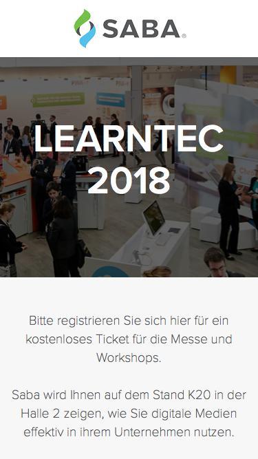 LEARNTEC 2018