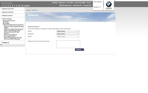 Screenshot of Contact Page spirehighgatebmw.co.uk - Contact us | Spire of Highgate - East Finchley | Authorised BMW Dealer - captured Oct. 27, 2014