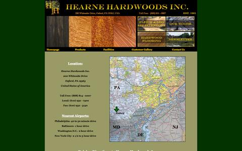 """Screenshot of Maps & Directions Page hearnehardwoods.com - Hearne Hardwoods with over 140 species of domestic and exotic hardwoods in stock, is one of the largest specialty lumber yards in the world. We are a retailer of exotic wood up to 84"""" inches wide, figured wood, hardwood flooring and millwork services - captured Sept. 23, 2014"""