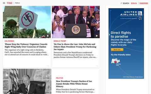 Politics | Time.com